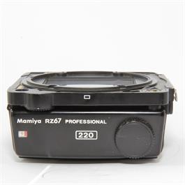 Used Mamiya 220 Film Back Unboxed thumbnail