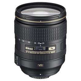 Nikon AF-S Nikkor 24-120mm f/4G ED VR Zoom Lens thumbnail