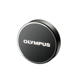 Olympus LC-48B lens cap (metal) for 17mm Black thumbnail