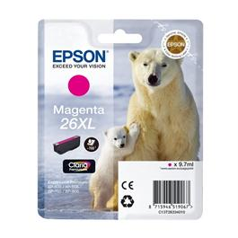 Epson Polar Bear T2633 XL Magenta Ink Cartridge thumbnail