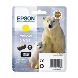 Epson Polar Bear T2634 XL Yellow Ink Cartridge thumbnail