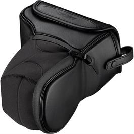 Sony LCS EMJB Soft leather-look carrying case for A5000/6000 Thumbnail Image 2