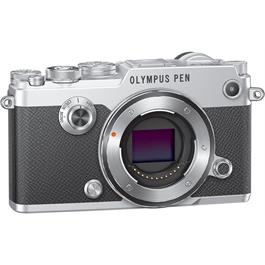 Olympus PEN-F Silver Angle