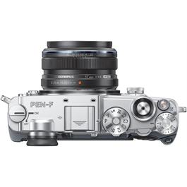 Olympus PEN-F Silver Top with 17mm F1.8