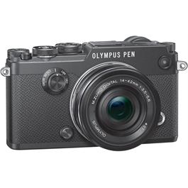 Olympus PEN-F Black Angle with 14-42mm F3.5-5.6