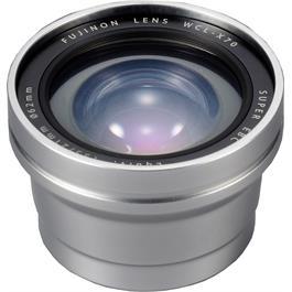Fujifilm WCL-X70 Wide Conversion Lens - Silver thumbnail