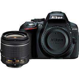 Nikon D5300 With AF-P DX NIKKOR 18-55mm f/3.5-5.6G VR Lens Kit - Black thumbnail