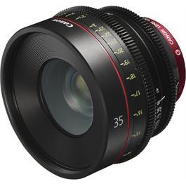Canon CN-E 35mm T1.5 L F Prime Cine Lens thumbnail