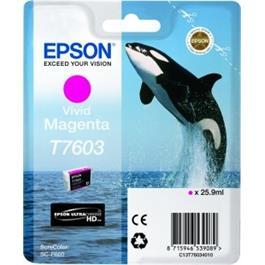 Epson Whale T7603 Vivid Magenta thumbnail