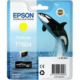 Epson Whale T7604 Yellow thumbnail