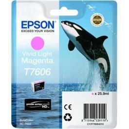 Epson Whale T7606 Vivid Light Magenta thumbnail