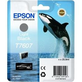 Epson Whale T7607 Light Black thumbnail