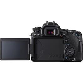 EOS 80D Back Screen