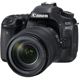 Canon EOS 80D Digital SLR with EF-S 18-135mm f/3.5-5.6 IS USM Lens thumbnail