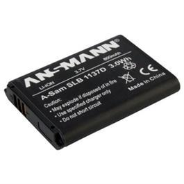 Ansmann Li-Ion Samsung SLB1137D Battery thumbnail