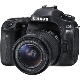 Canon EOS 80D Digital SLR with EF-S 18-55mm f/3.5-5.6 IS STM Lens thumbnail