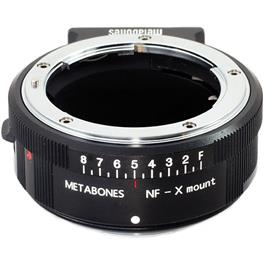 Metabones Nikon G - X-Mount Adapter -Blk thumbnail