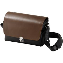 Olympus CBG-11 PR High Value Black / Brown Leather Bag thumbnail