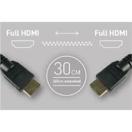 Atomos Coiled Full HDMI To Full HDMI Cable (30-45cm) thumbnail