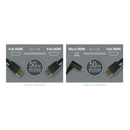 Atomos Coiled Full HDMI To Full HDMI Cable (50-65cm) thumbnail