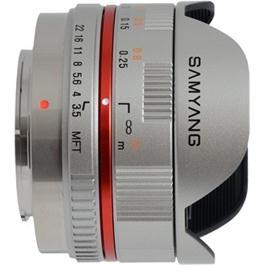 Samyang 7.5mm f/3.5 UMC Fisheye MFT - Silver thumbnail
