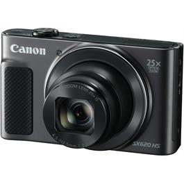Canon PowerShot SX620 HS Compact Digital Camera - Black thumbnail