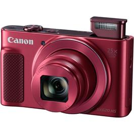 PowerShot SX620 HS - Red Front Angle Flash