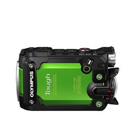 Olymous Tough TG-Tracker Action Camera - Green  Side View