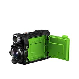 Olympus Tough TG-Tracker Action Camera - Green Scree Open
