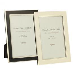 """Kenro Whisper Classic Series 6x4"""" Photo Frame - White Inlay thumbnail"""