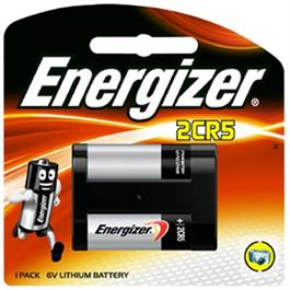 Energizer EL 2CR5 Lithium Battery thumbnail