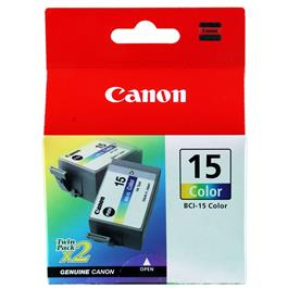 Canon BCI 15 Colour Cartridge for i70/i80 and i90 printer thumbnail
