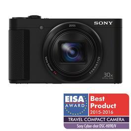 Sony DSC-HX90V Compact Camera - Black Thumbnail Image 1