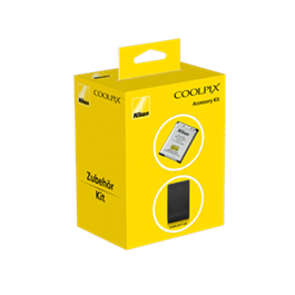 Nikon Coolpix Kit - Coolpix S7000 Battery + case thumbnail