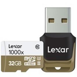 Lexar 32GB Micro SDHC 1000X UHS-II thumbnail