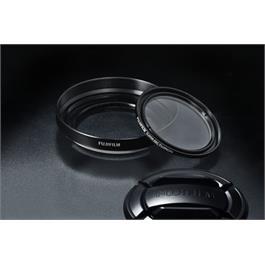 Fujifilm X20/30 Lens hood and Filter kit Black thumbnail