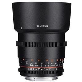 VDSLR Cine Lens Kit 2 - 14/35/85mm - Canon Fit