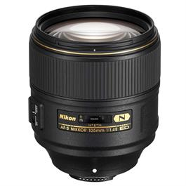Nikon AF-S 105mm f/1.4E ED Lens thumbnail