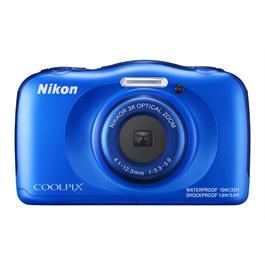 Nikon Coolpix W100 Blue Front