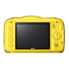 Nikon Coolpix W100 Yellow Back