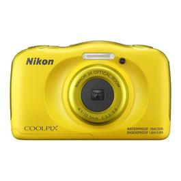 Nikon Coolpix W100 Yellow Front
