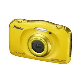 Nikon Coolpix W100 Yellow Front Angle Left