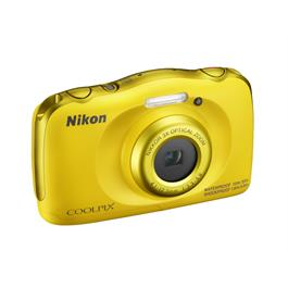 Nikon Coolpix W100 Yellow Front Angle Right