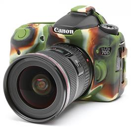 Easy Cover Silicone Skin for Canon 70D Camo thumbnail