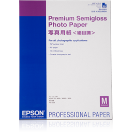 Epson Premium Semigloss A3 Photo Paper, 20 Sheets thumbnail