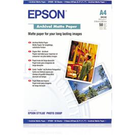 Epson Archival Matt Paper A4 50 Sheets thumbnail