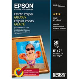 Epson Glossy Photo Paper 13 x 18cm, 50 sheets thumbnail