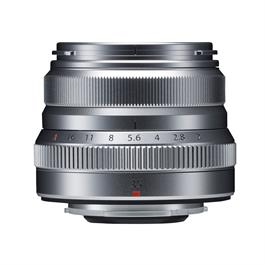 Fujifilm XF 35mm f2 R WR Standard Prime Lens - Silver Thumbnail Image 1
