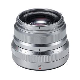 Fujifilm XF 35mm f2 R WR Standard Prime Lens - Silver thumbnail