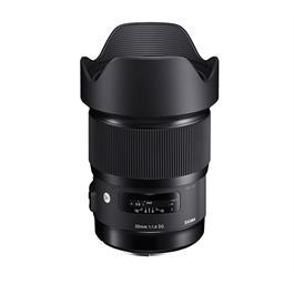 Sigma 20mm F1.4 DG HSM Art Lens - Canon fit thumbnail